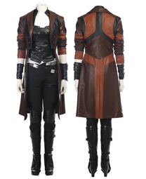 Gamora Cosplay Costume Guardians of The Galaxy 2 Costume