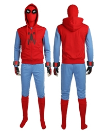 Spider-Man Homecoming Tom Holland Spiderman Outfits Cosplay Costume