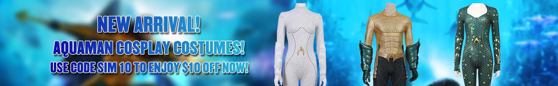 simcosplay aquaman cosplay costume 2018