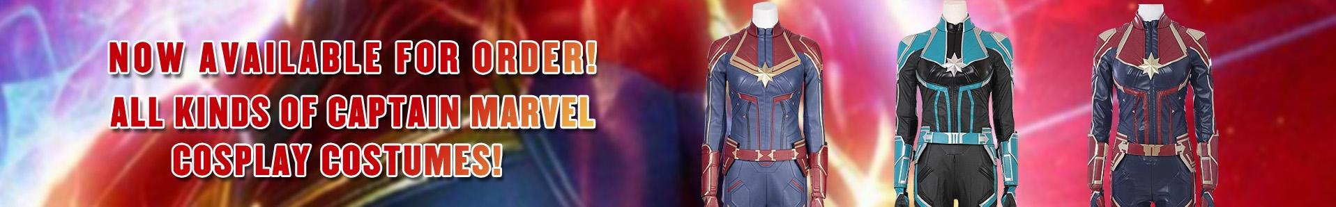 2019 captain marvel movie starforce cosplay costumes