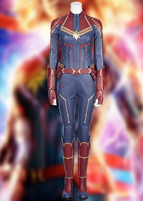 Simcosplay captain marvel cosplay costume