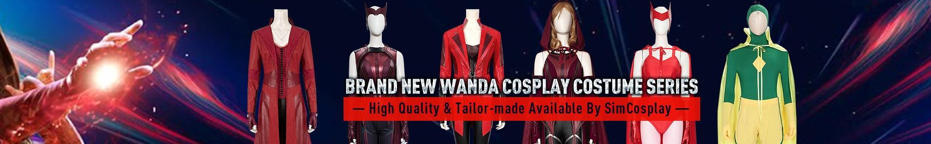 wanda cosplay costumes